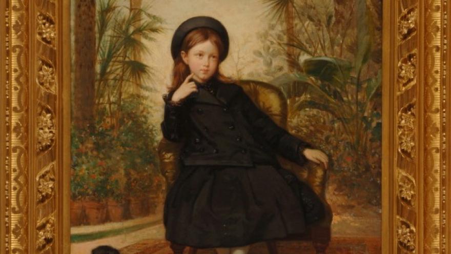 'María Teresa de Madrazo y de Madrazo' 1874-1875 Luis de Madrazo