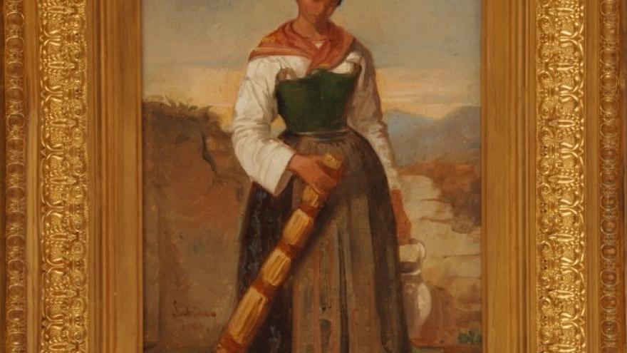 'Campesina' 1850 Luis de Madrazo