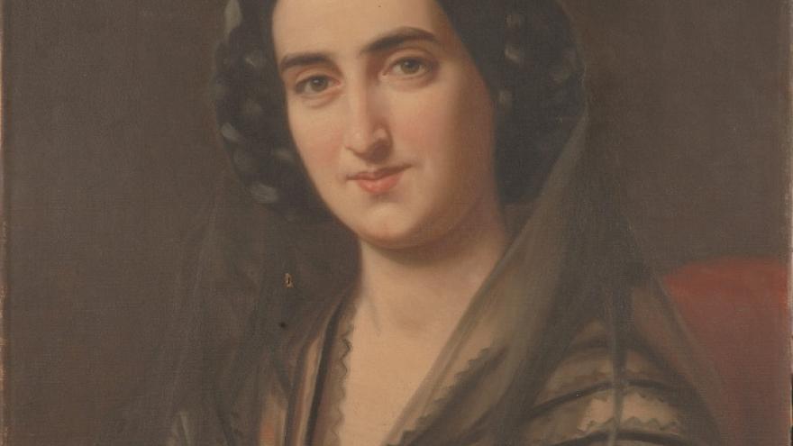 'Carolina Coronado' 1857 Luis de Madrazo