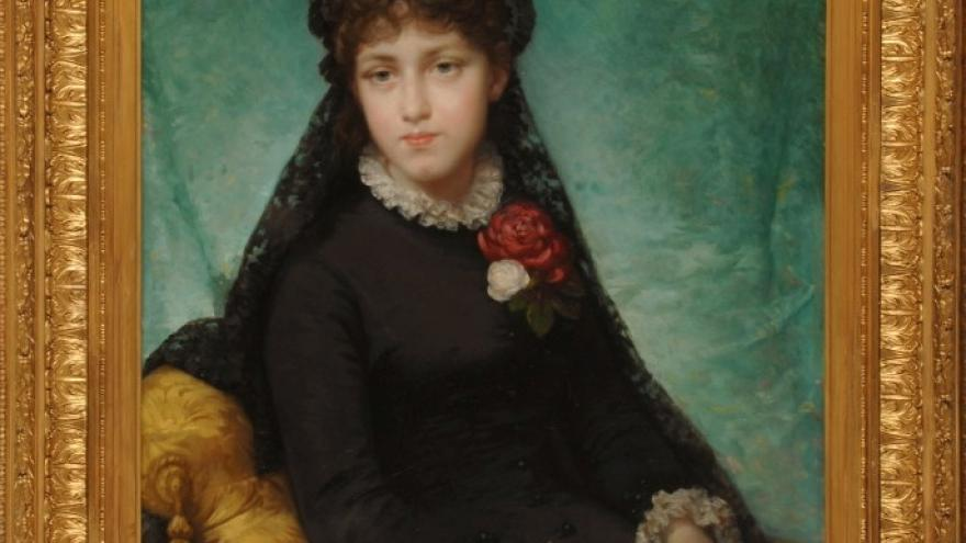 'María Teresa de Madrazo y de Madrazo' 1883-1884 Luis de Madrazo