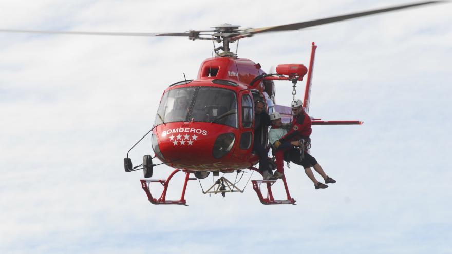 Helicóptero de rescate: 1 unidad