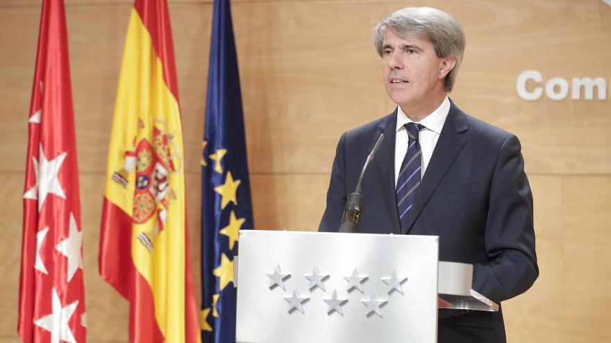 Ángel Garrido en el Consejo de Gobierno