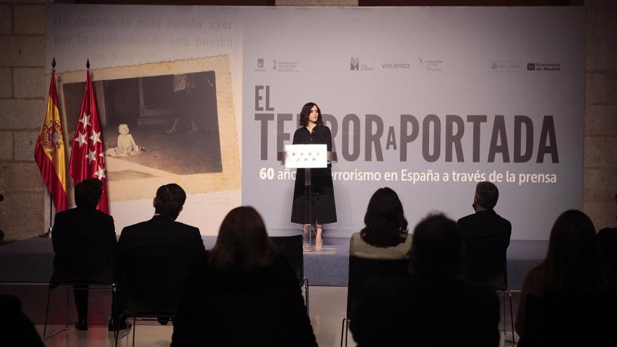 Inauguración de la exposición en la Real Casa de Correos