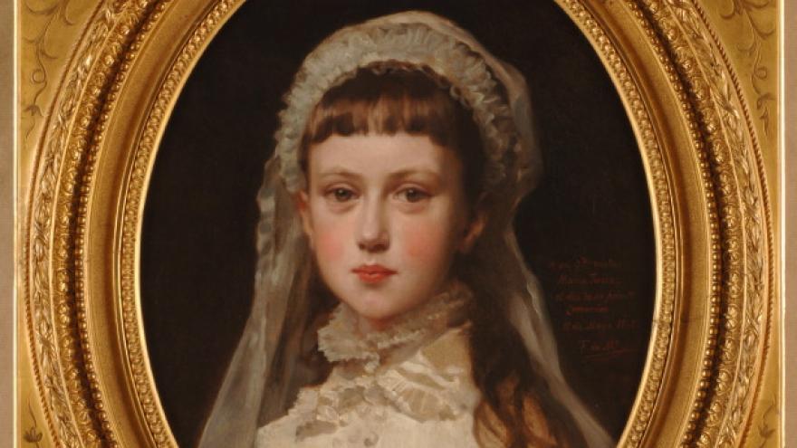 'María Teresa de Madrazo y de Madrazo' 1878 Federico de Madrazo Kuntz