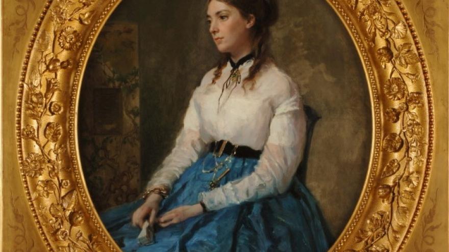 'Margarita Tewart de Madrazo' 1865-1867 Raimundo de Madrazo Garreta