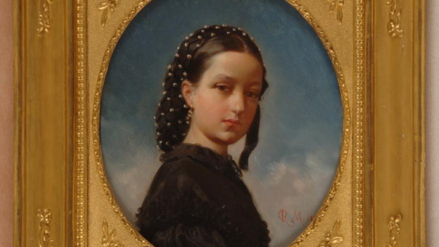 'Isabel de Madrazo Garreta' 1859 Raimundo de Madrazo Garreta