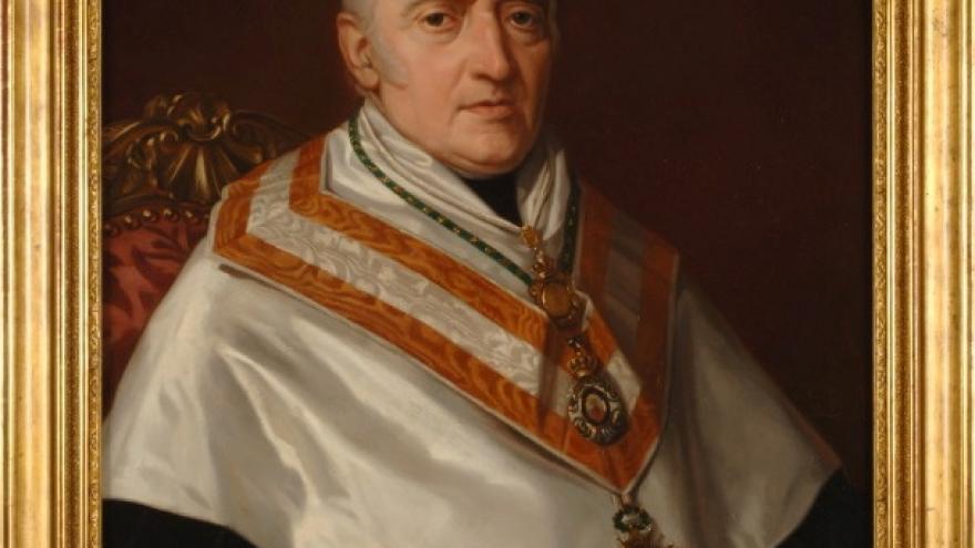'Juan Nicasio Gallego' 1853 Luis de Madrazo Kuntz