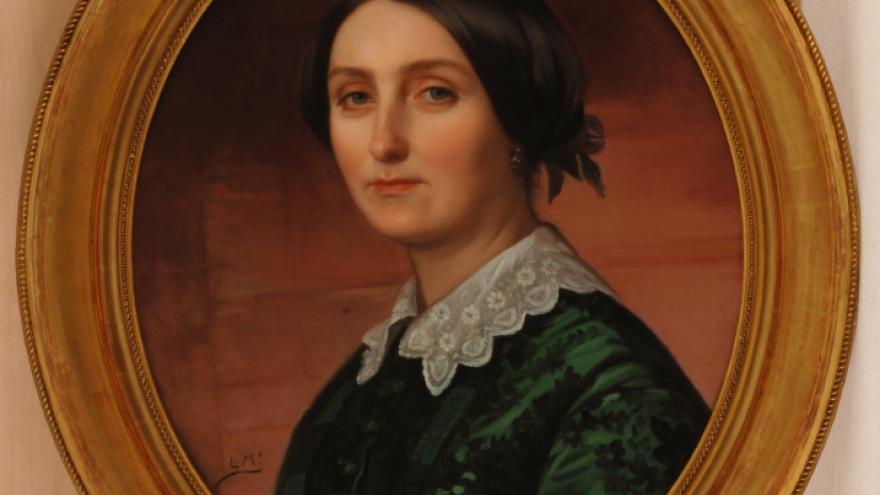'Agustina Larrañaga' 1856-1858 Luis de Madrazo Kuntz