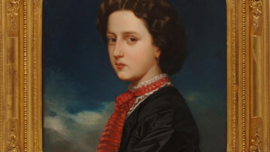 'Cecilia de Madrazo Garreta' 1862 Luis de Madrazo