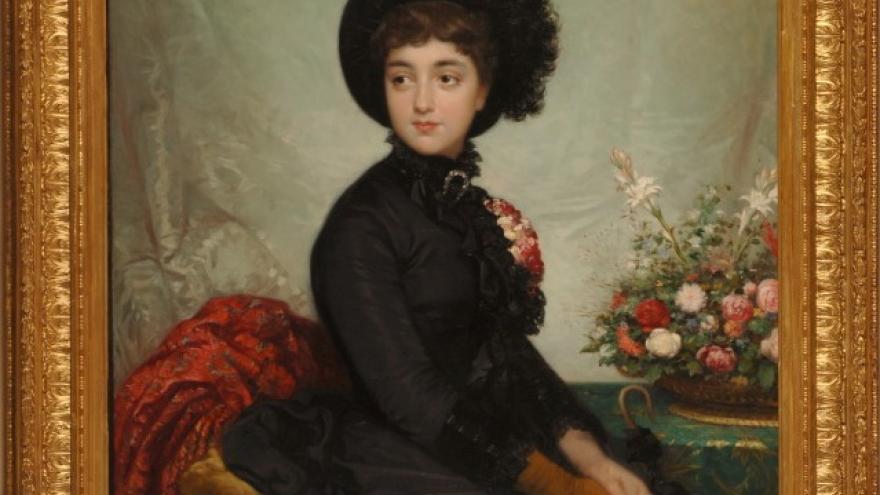 'Sofía de Madrazo y de Rosales' 1875-1880 Luis de Madrazo