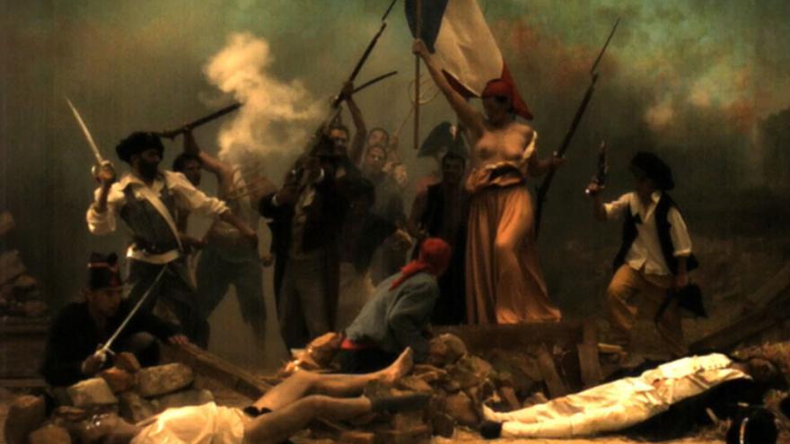 La Liberté raisonnée, 2009. Cristina Lucas. Colección CA2M, Móstoles