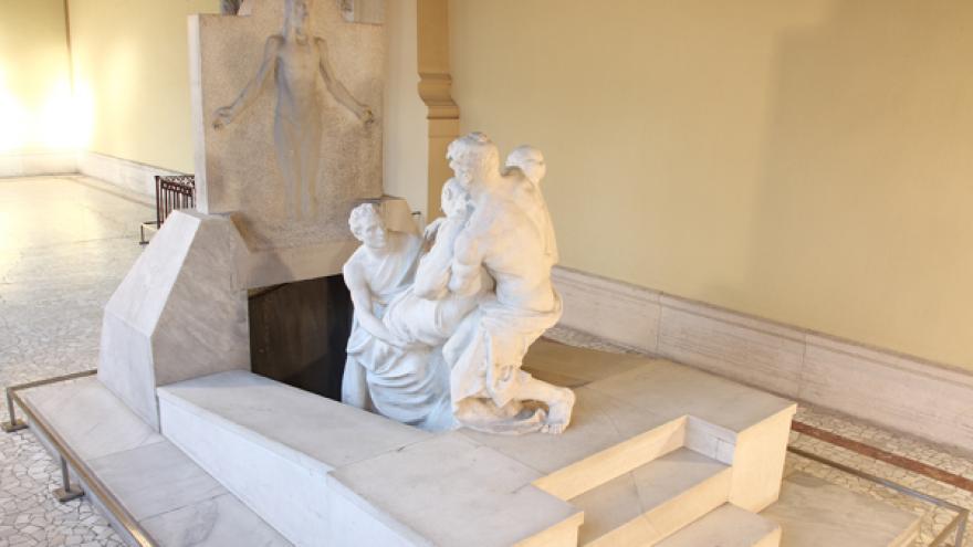 Mausoleo de José Canalejas en el Panteón de Hombres Ilustres