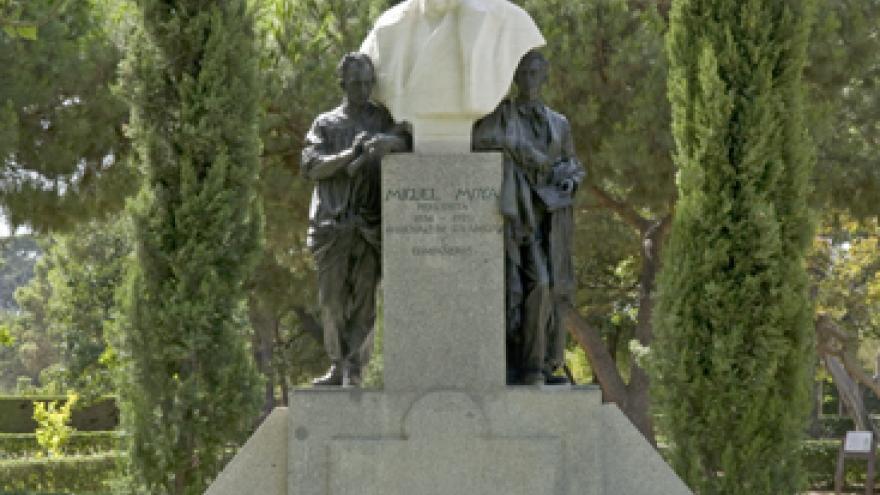 Estatua de Miguel Moya