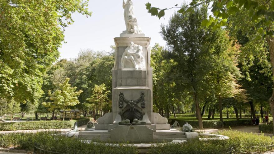 Monumento a Cuba en el Parque de El Retiro