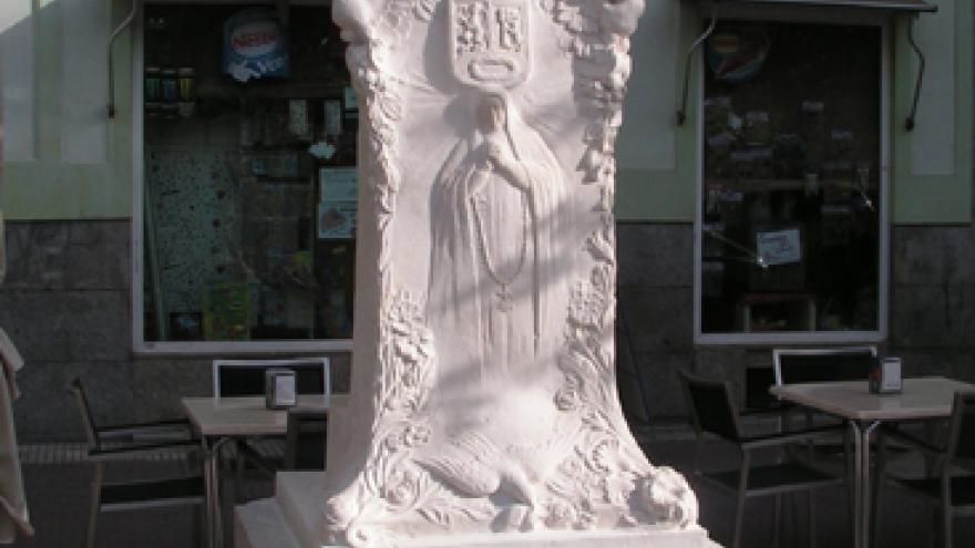 Monumento a Loreto Prado en la Plaza de Chamberí