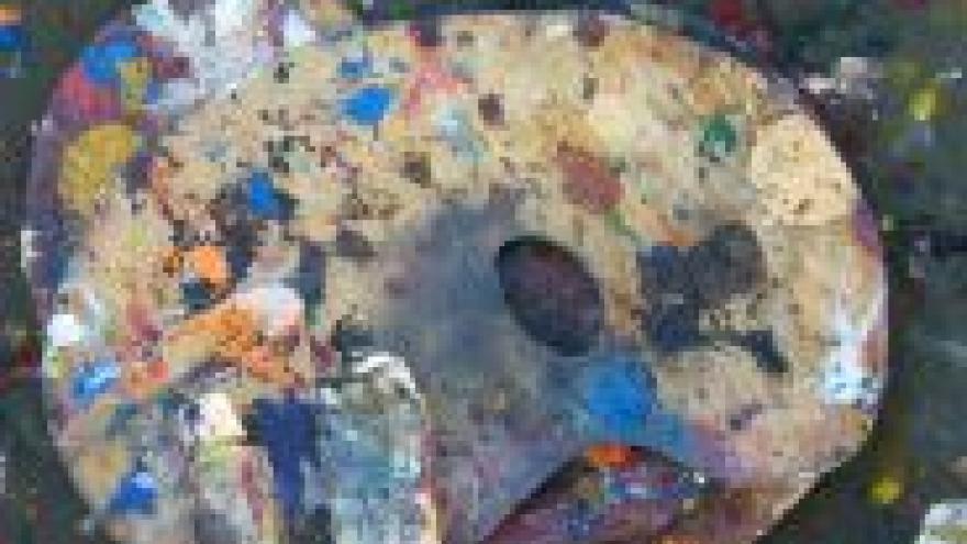 imagen útiles de pintura