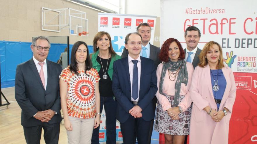 Profesionales implicados en programas salud y deporte en Getafe