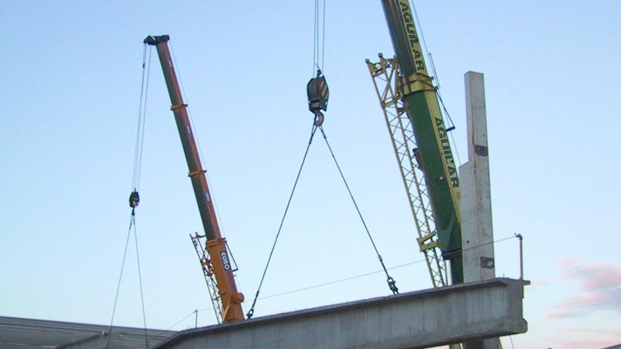 Evolución construcción Cocheras Línea 10