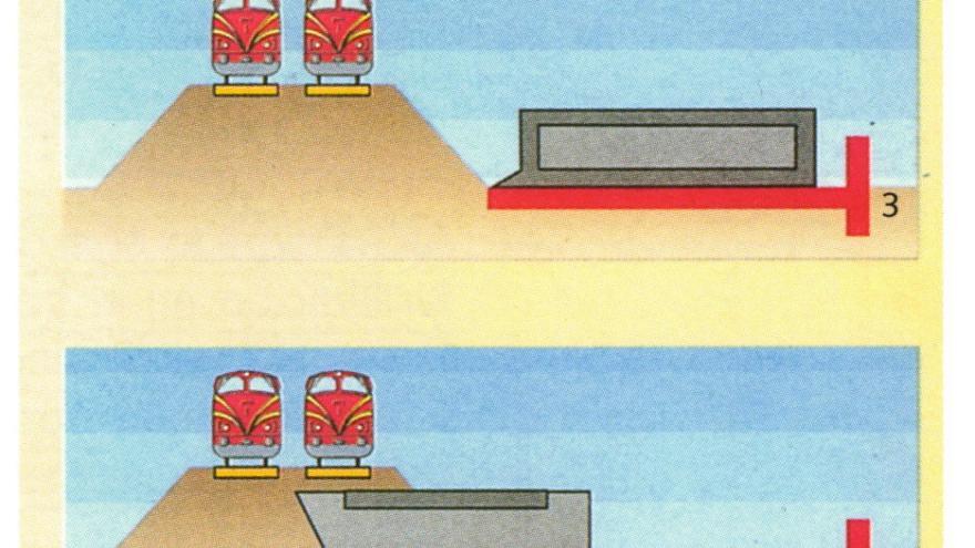 Proceso constructivo del paso inferior de la estación de El Pozo