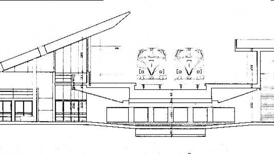 Sección de la estación de El Pozo