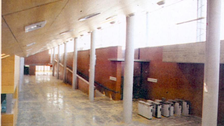 Vista vestíbulo estación de El Pozo