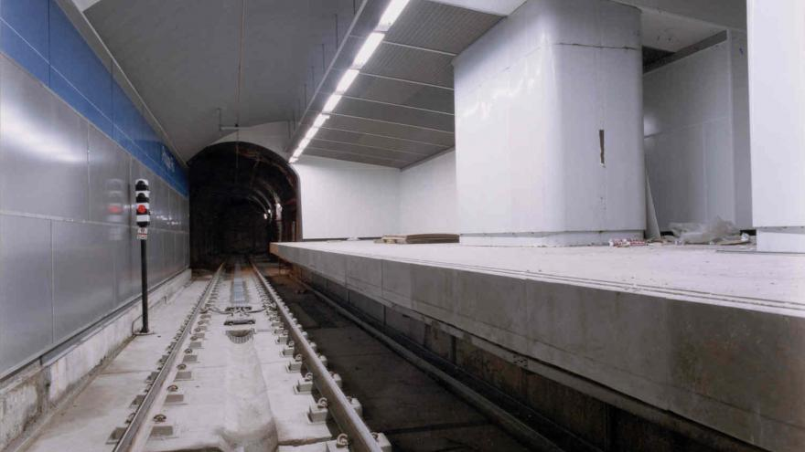 Túnel variante Línea 10