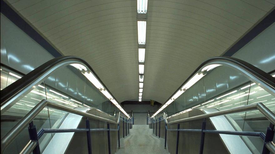 Cañones comunicación entre Línea 5 y Pasillo Verde Ferroviario