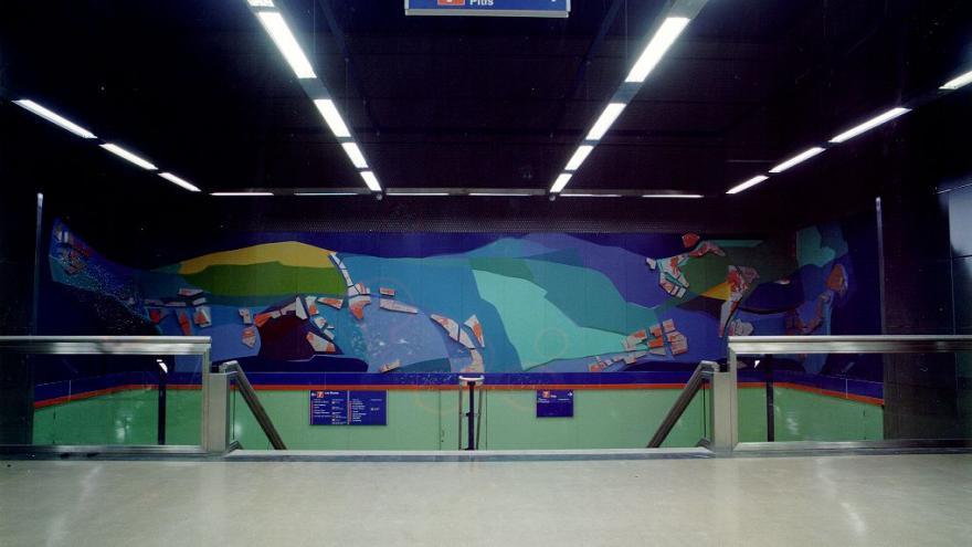 Mural estación Francos Rodríguez