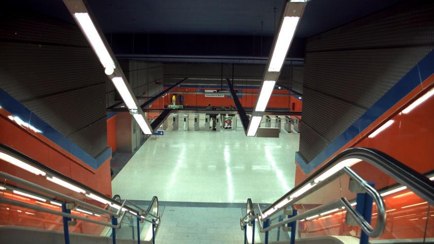 Vestíbulo estación Antonio Machado