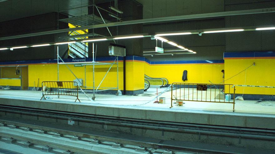 Andenes estación Peñagrande