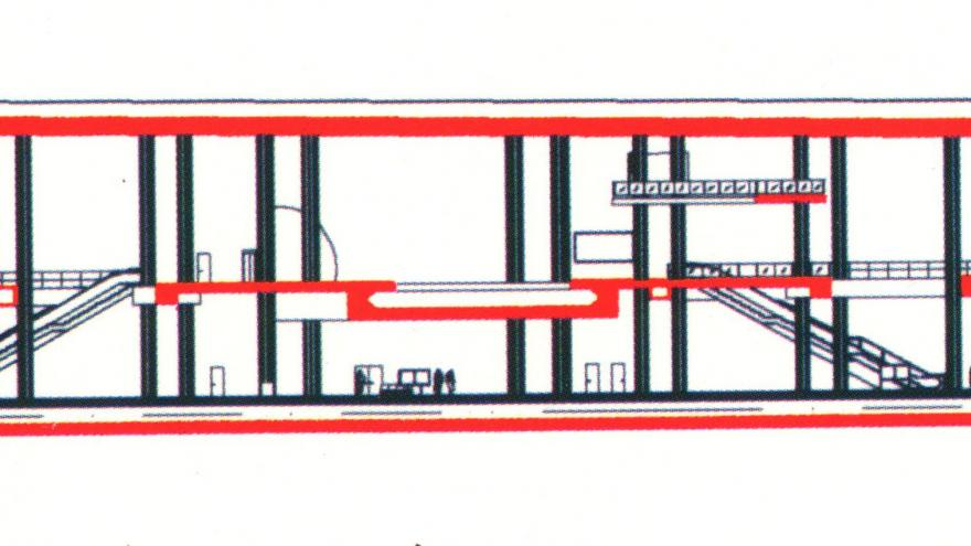 Sección estación Mar de Cristal