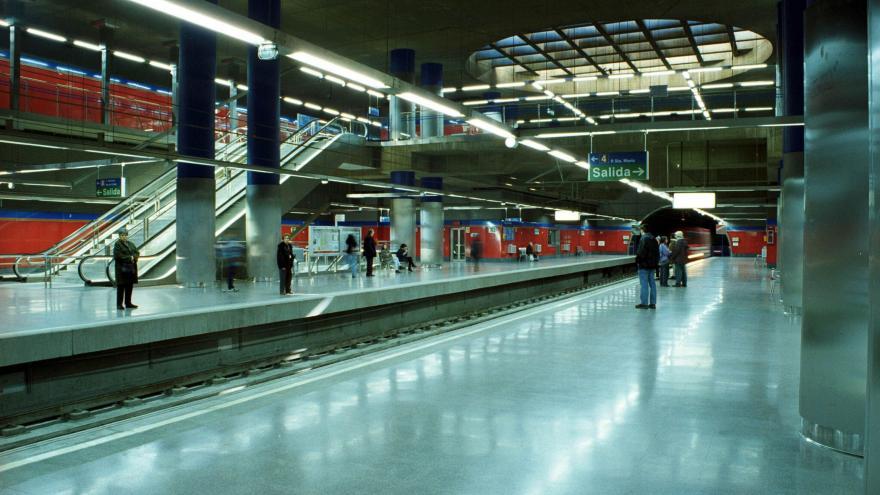 Estación Mar de Cristal terminada
