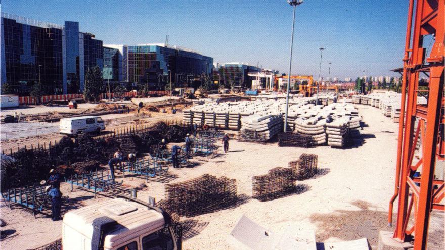 Fábrica de dovelas en Campo de las Naciones