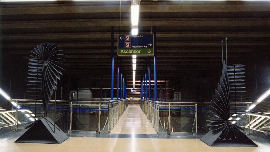 Esculturas estación Valdebernardo