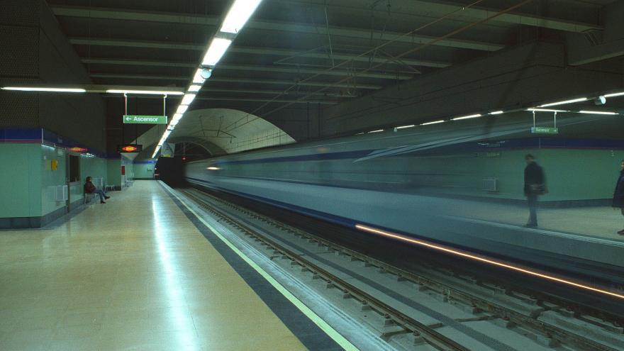 Andenes estación Vicálvaro