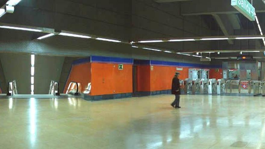 Vestíbulo estación San Cipriano