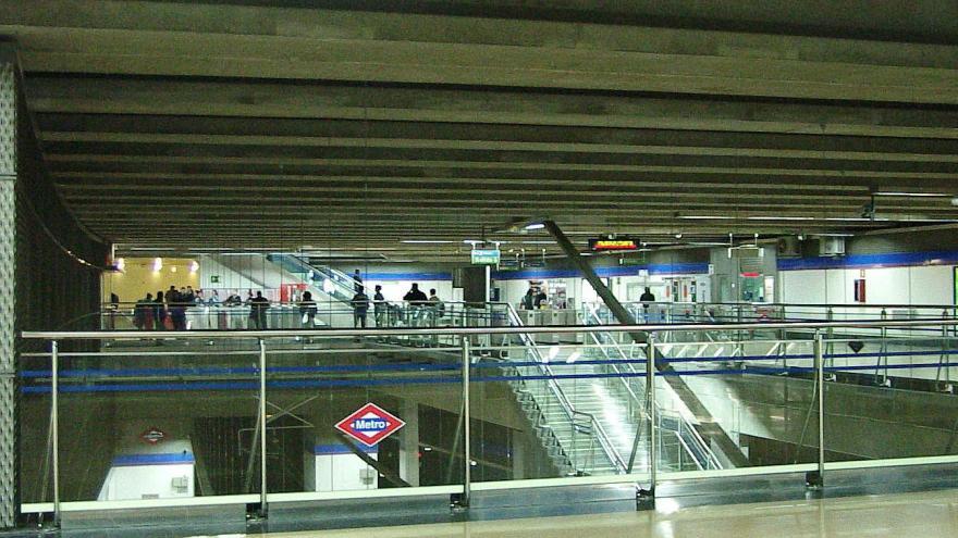 Vista estación Puerta de Arganda