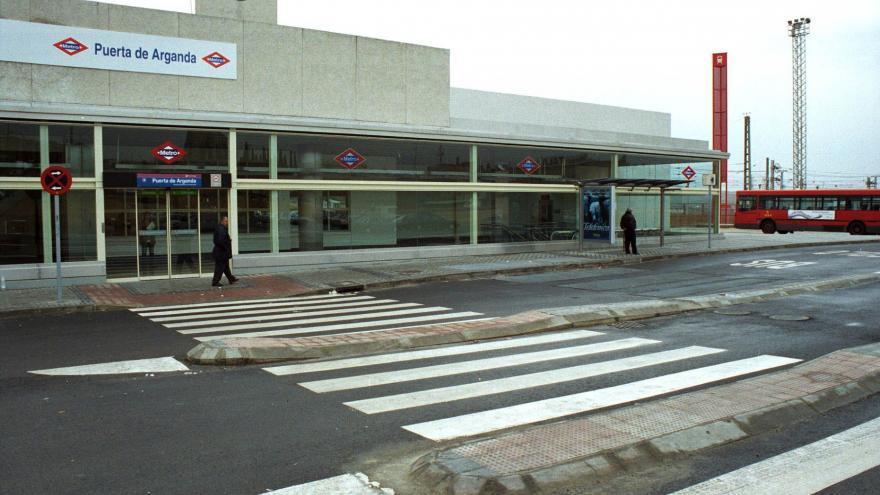 Acceso estación Puerta de Arganda