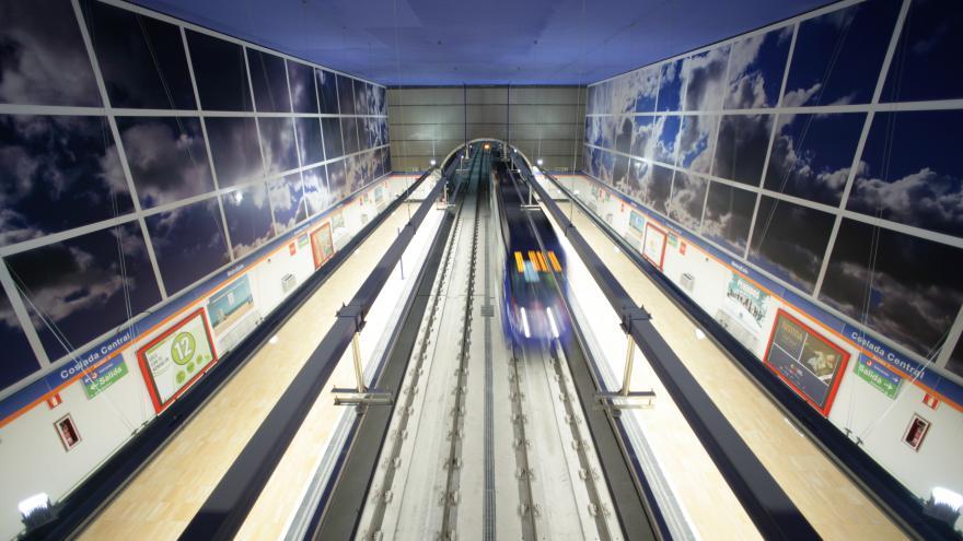 Estación Coslada Central Línea 7