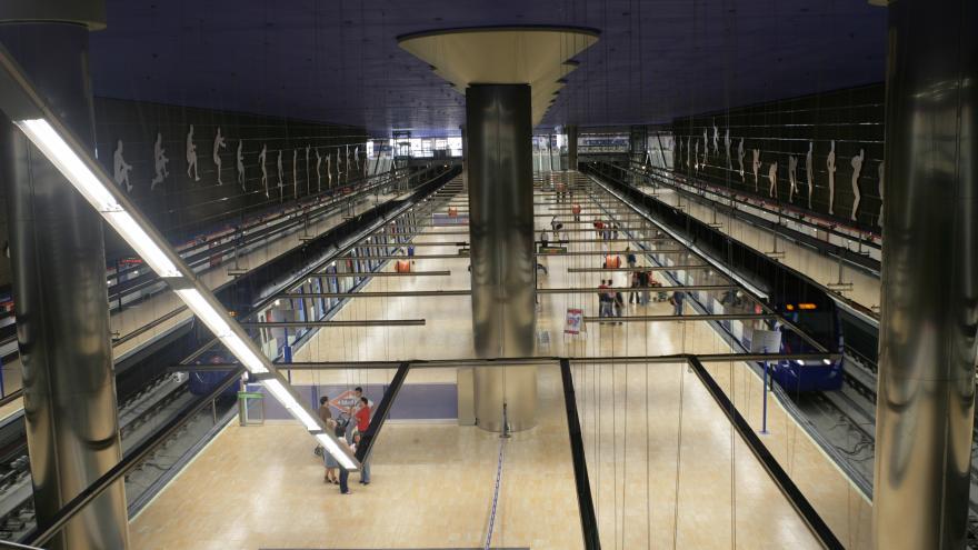 Estación Estadio Olímpico Línea 7