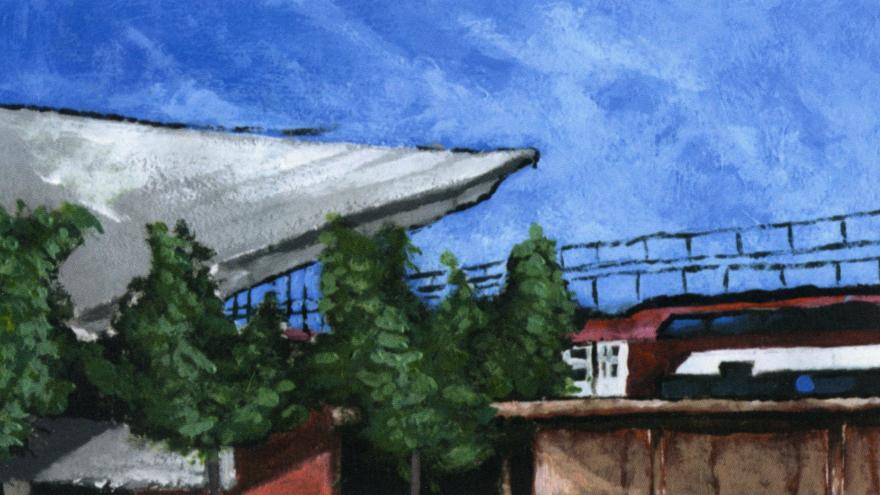 Boceto estación El Pozo