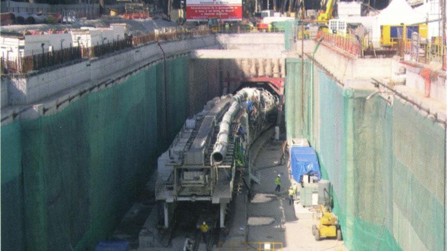 Backup de la tuneladora