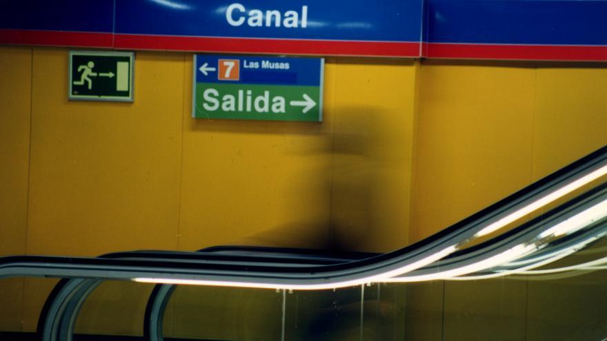 Detalle señalización estación Canal