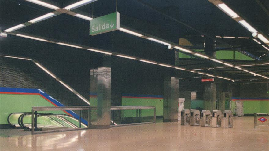 Vestíbulo estación Francos Rodríguez