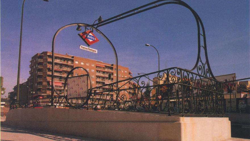 Acceso estación Francos Rodríguez
