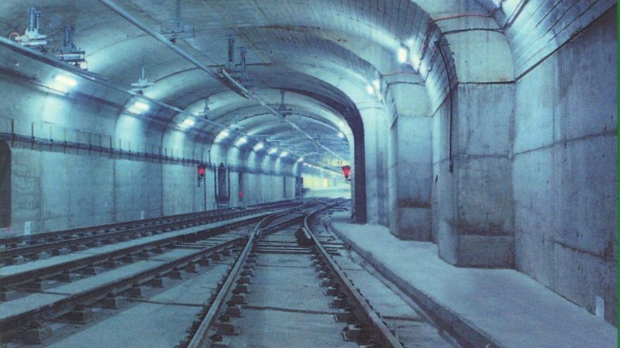 Falso túnel entre Arroyo Fresno y Pitis