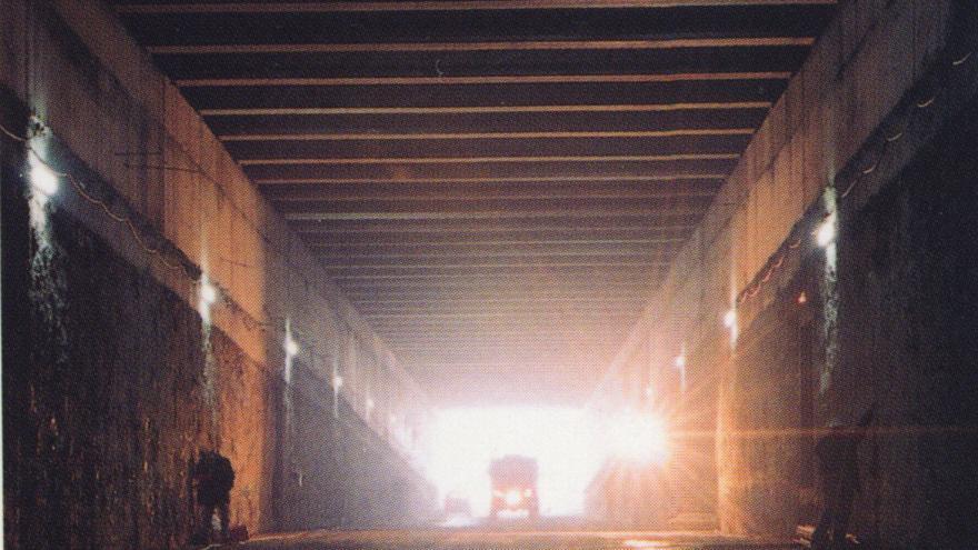 Excavación del túnel