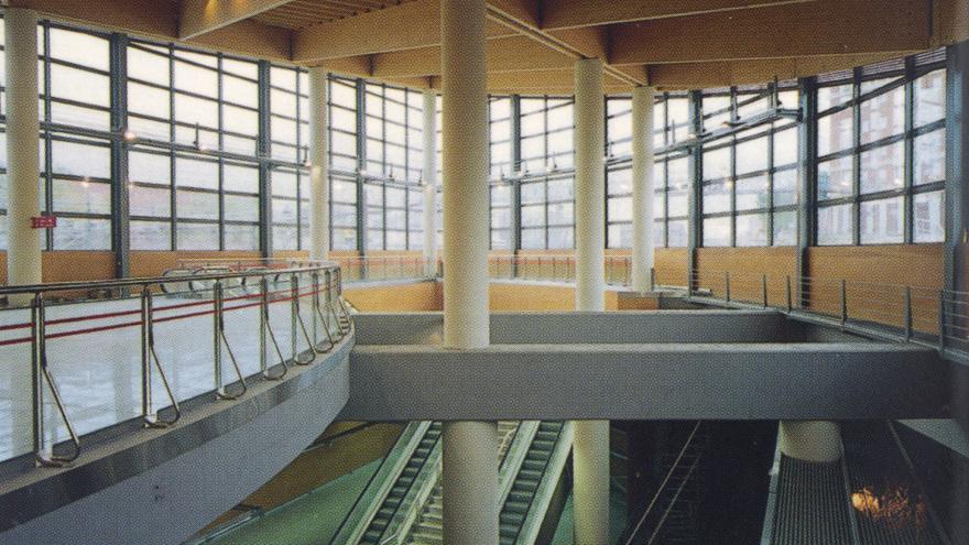 Interior intercambiador