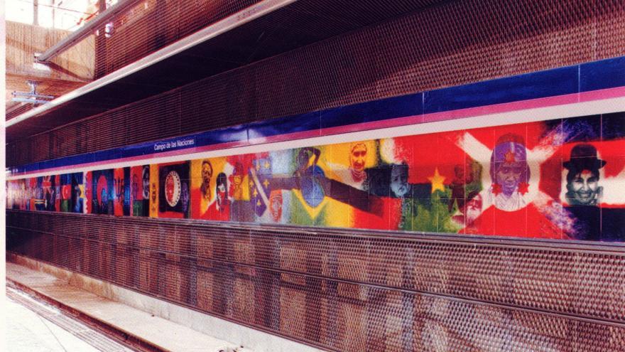 Mural Campo de las Naciones