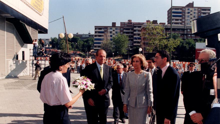 Inauguración por Sus Majestades los Reyes de España